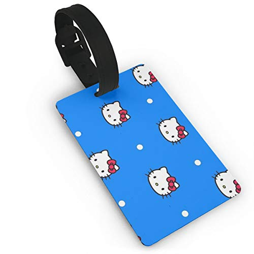 Etiqueta Equipaje Viaje diseño Hello Kitty