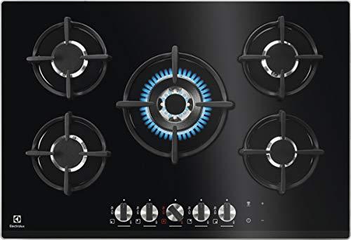 Electrolux KGG7538K - Piano Cottura A Gas, Acciaio INOX 18/8