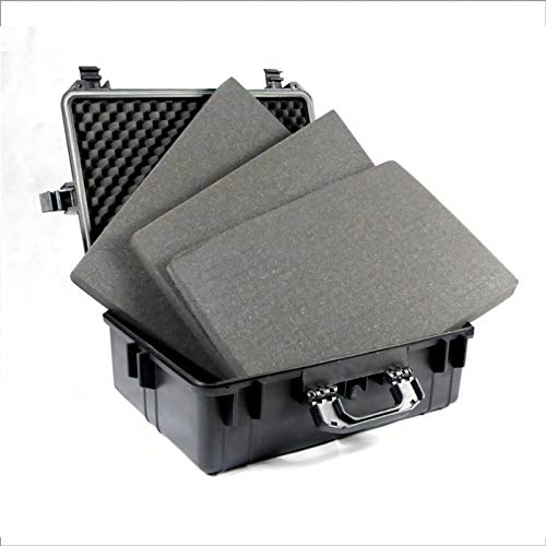 BUZE Fotokoffer Foto Koffer Kamerakoffer Werkzeugkoffer mit 35 Liter Volumen inklusive 4 Innenpolster