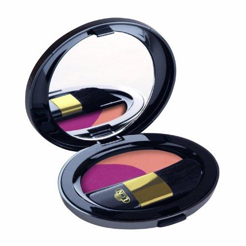 LCN Blusher Duo-luxuriöser zweifarbiger Rouge mit seidiger Textur (Nr. 20-luxury rose pink/shiny...