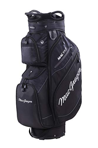 """MacGregor Golf MACTEC 14.0 Golf Club Cart Bag, 10\"""" , Schwarz"""