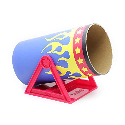 HAYPIGSMeerschweinchen Zubehoer und Spielzeug - Cavy CannonballTunnelwippe im Zirkus-Look -Meerschweinchen Tunnel–Spielzeug für Frettchen– Ratten Zubehör–Spielzeug für Kleintiere