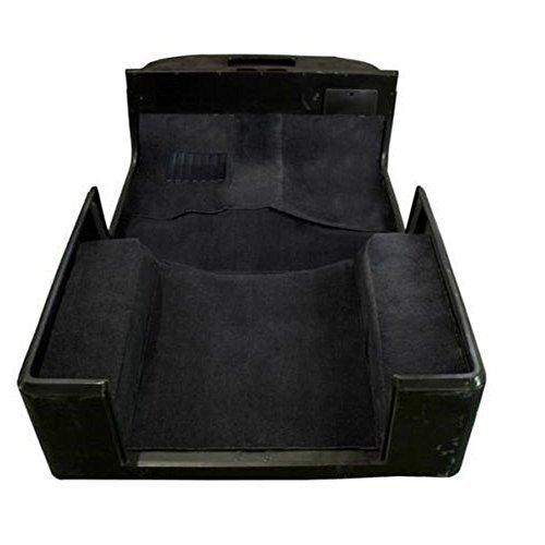 Max Motosports Full Set Black Carpet Kit Floor Mat 6 PCS for Jeep Wrangler YJ 1987 1988 1989 1990 1991 1992 1993 1994 1995