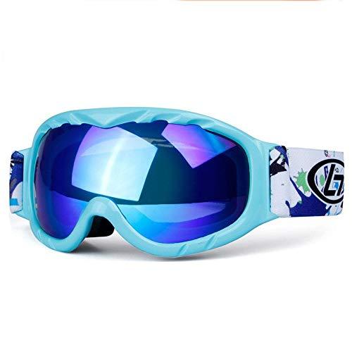 Yiph-Sunglass Sonnenbrillen Mode Sphärische, zweischichtige Antibeschlag-Kinderskibrille Zubehör...