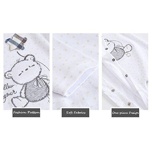 Recién nacido Pijama Bebés Pelele Niñas Niños Mameluco Algodón Caricatura Trajes 3-6 Meses