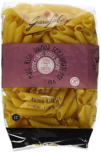 Garofalo - PENNE RIGATE SENZA GLUTINE - Senza Glutine - Cartone da 12 pacchetti da 400g