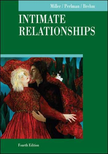 Intimate Relationships (McGraw-Hill Series in Social Psychology)