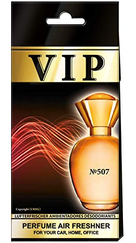 3x caribi VIP Auto aire ambientador Perfume Hogar Oficina Aroma Perfume similar a Caro–№ 507