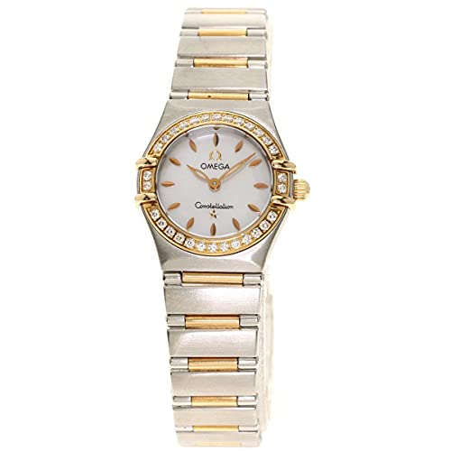 [オメガ]コンステレーション ベゼル ダイヤモンド 1360.72 腕時計 ステンレススチール/SSxK18PG レディース (中古)