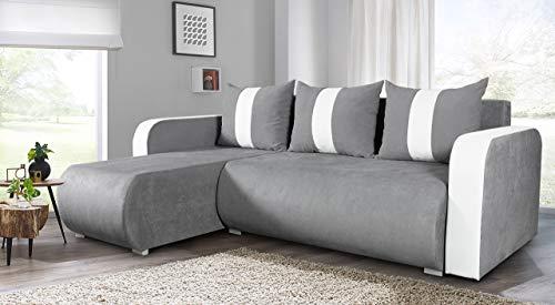 Ecksofa Couch –  günstig  Rino  Schlaffunktion Bild 3*