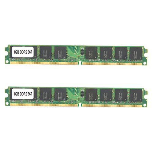 Yctze Módulo de Memoria de 2 Piezas 1 GB de Doble Cara de 16 partículas para inspección del Sistema Calidad Garantizada Resistencia a Altas temperaturas