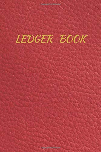 Ledger Book: Expense Tracker for Bookkeeping, Finance Organizer, Personal Money Management, Budget Planer, Housekeeping Management, Income Expense Journal with 120 pages, size 6 x 9 Inches.