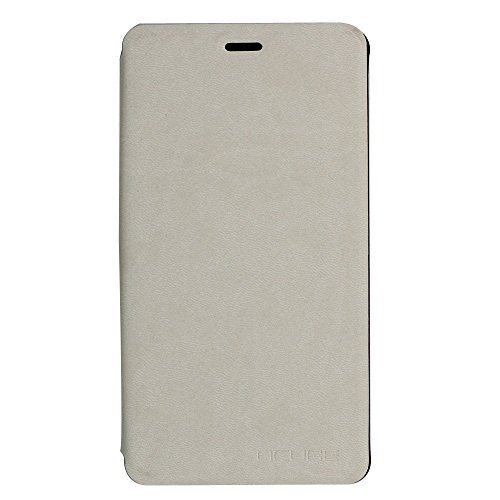 New Arrival PU Leather Phone Case Back Cover for Leagoo Shark 1 6.0 inch Phone - White