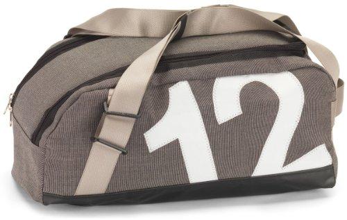 360°-Segeltuchtaschen Tasche Persenning, Container grau|Zahl weiß