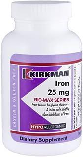 Iron 25 mg Bio-Max Series Capsules - Hypo - 120 ct