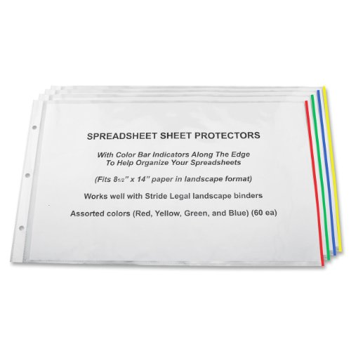 Stride Easyfit Color Bar Sheet Protectors 8 5 X 14 Landscape Orientation Box Of 60 61300 Buy Online In Maldives At Maldives Desertcart Com Productid 24126501