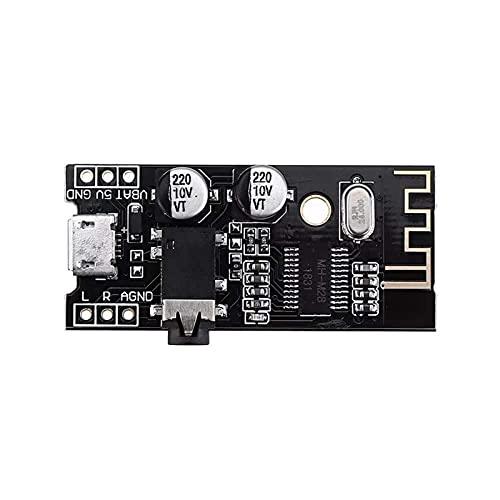 M28 Bluetooth 4.2 Módulo Receptor de Audio con Interfaz de Audio de 3.5mm Altavoz sin pérdida de automóvil para Auriculares Auriculares de Amplificador CABETIVO REFIT