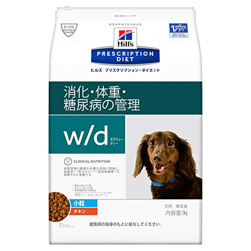 (Therapeutic Diets) Prescription Diet Dog Food w/d Doubreedy Small Grains Chicken 6.6 lbs (3 kg)