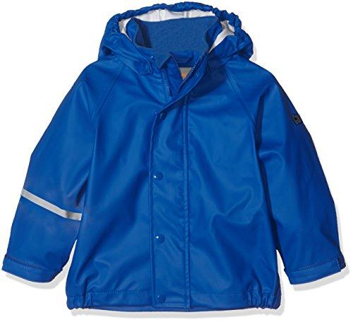 CareTec Kinder wasserdichte Regenjacke, Blau (Ocean blue 706), 3 Jahre/98 cm