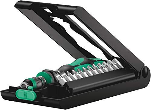 Wera 05056656001 Kraftform Kompakt 50, Handhalter mit Bit-Sortiment, 14-teilig, Stück