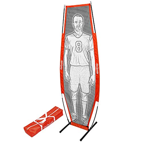 GoSports Soccer Xtraman Dummy Defender Training Mannequin - Practice Free Kicks, Dribbling and Passing Drills