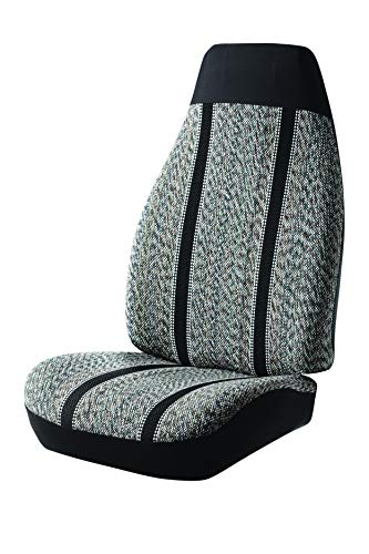 Fia TR42-95 BLACK Custom Fit Rear Seat Cover Bench Seat - Saddle Blanket, (Black)