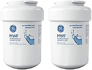 GE SmartWater MWFP Refrigerator Water Filter, 2-Pack