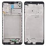 Dmtrab LCD Marco Frontal de la Carcasa del Bisel Placa for Galaxy Samsung A21s Lote de Placa de Bisel de Marco (Color : Black)