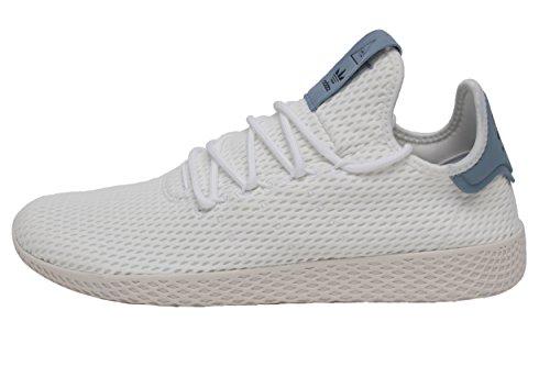 adidas Originals Men's Pharrell Williams Human Race White/White/Blue 4.5 D US D (M)