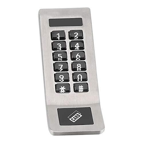 Pomya Intelligent deurslot, cijfercode-combinatie-kast, zilver, comfortabel slot met sleutels, kastcodeslot voor gereedschapskisten, kasten, laden enz.