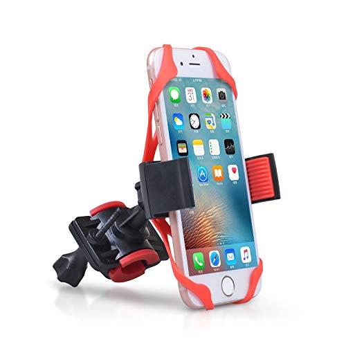 Soporte para manillar para bicicleta 360 ° de rotación universal de bicicletas Moto Teléfono soporte de la horquilla del soporte del Anti-Shake soporte for teléfono abrazadera for iOS Android Teléfono