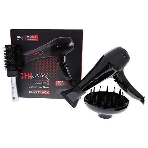 CHI Air Classic 2 Ceramic Hair Dryer - Black