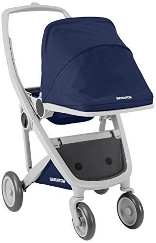 Greentom A+B+D grey-blue-V16 Unisex Buggy Sessel