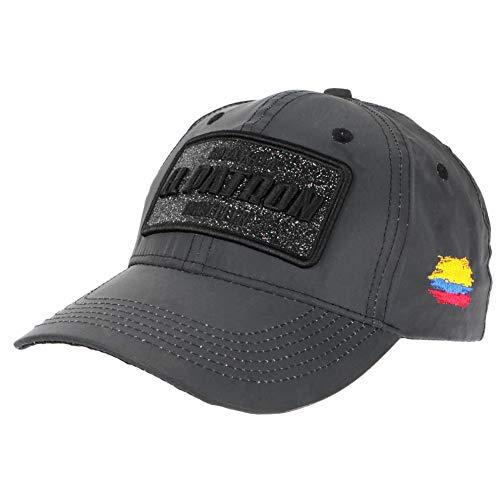 Gorra El Patrón Gris de tela reflectante Fashion Medellin Colombia béisbol – Unisex gris Talla única