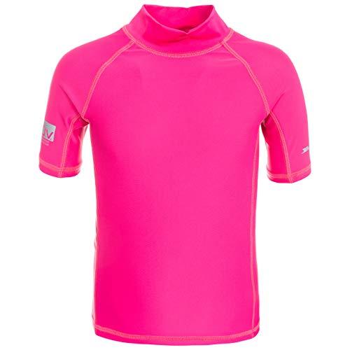 Trespass Crew, Pink Lady, 9/10, Bañador con protección UV para niños, Unisex, Edad 9-10, Color Rosa