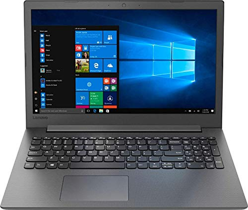 "2019 Newest Lenovo 130-15AST 15.6"" Laptop AMD A9-Series, 8GB DDR4 RAM, 256GB SSD, Wi-Fi, HDMI, Bluetooth, Windows 10, Black"