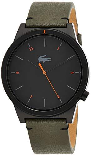 Lacoste Reloj Analógico para Hombre de Cuarzo con Correa en Cuero 2010991