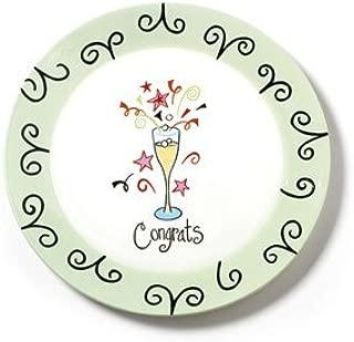 Hannabells Congrats Plate ~ 11