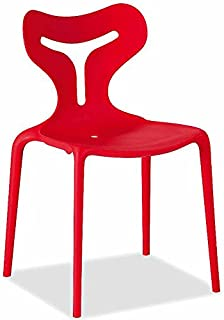 Amazon.it: sedie rosse Calligaris: Casa e cucina