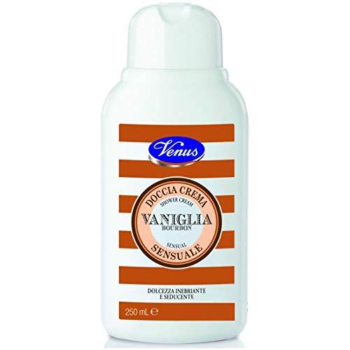 VENUS Bagno Crema Sensuale Vaniglia Bourbon 250 ml, Giallo, L