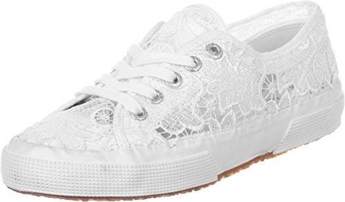 Superga Damen 2750-macramew Sneakers, Weiß (901), 38 EU
