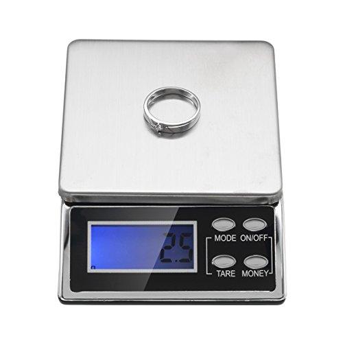 EsportsMJJ 500/0,1 G mode precisie mini palm grootte elektronische weegschaal draagbare weegschaal voor Lab Cooking Keuken