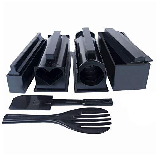 Sushi Tool Set-Sushi Making Kit Für Anfänger, Sushi Maker Kit Premium Convenient Sushi Maker Für Die Küche DIY Home Sushi Werkzeug Für Maki-Rollen, Sushi Rollen