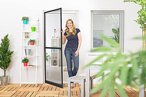 empasa Insektenschutz Fliegengitter Tür Alurahmen Master SLIM PLUS Selbstbausatz weiß, braun oder anthrazit