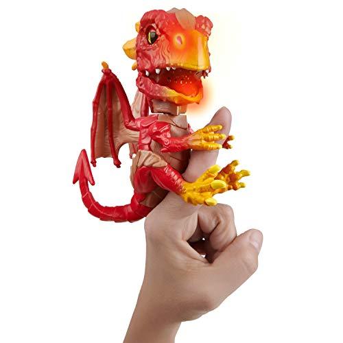 UNTAMED WowWee Fingerlinge Dragon - Serie 1 - Wildfire (rot)