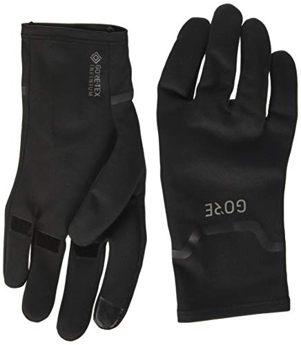 Gore Wear M Gore-Tex INFINIUM Stretch Guantes, Unisex Adulto, Black, 8