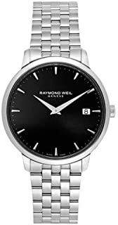 ساعة ريموند ويل كاجوال للرجال انالوج بعقارب ستانلس ستيل - 5588-ST-20001