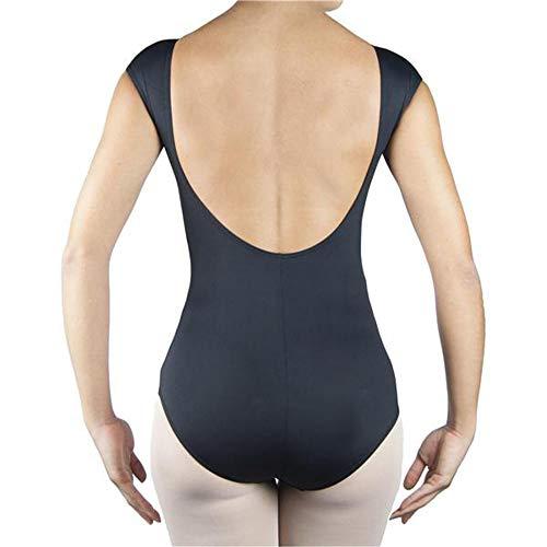 Intermezzo Trikot - angeschn. Arm, Rücken tief Negro XL