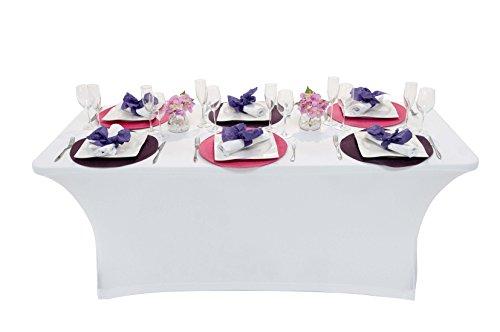 Newstorm 50011001296782 - Funda blanca para mesa OSKAR180