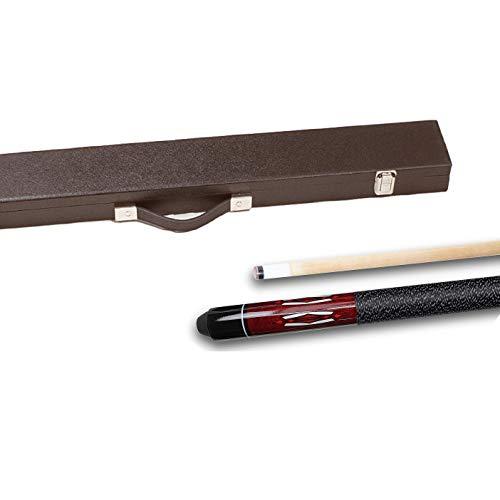 Top-Angebot!!! Billardqueue Tycoon, TC-1 rot, Länge ca. 147 cm, 2-tlg. Koffer Standard 1/1 schwarz by Tycoon